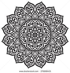 stock-vector-mandala-round-ornament-pattern-vintage-decorative-elements-hand-drawn-background-islam-arabic-276898415.jpg (450×470)