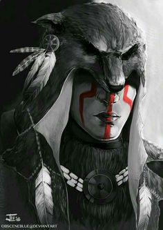 Concept art from the Assassin's Creed saga by Obscene Blue Native American Tattoos, Native Tattoos, Native American Images, American Indian Art, Native American History, Native American Indians, Assassins Creed Art, Inka, Aztec Warrior