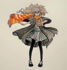 I got several requests for Hermione Granger, so here she is!