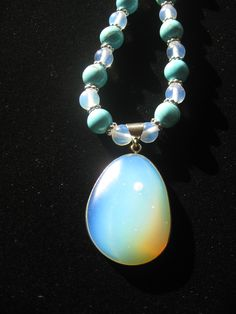 turquoise and moonstone