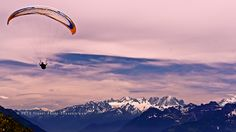 Parachute in #Leysin : Oxygen of the Alps, #Switzerland