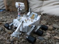 Mars Curiosity Rover by adam1mc. Based on a design by ThePlanetMike.