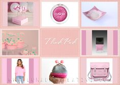 LUNAdei Creativi | Moodboard of the Moon: Think Pink | http://lunadeicreativi.com
