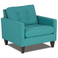 Picture of Easton Teal Accent Chair