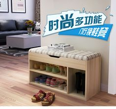 Vine sfere creative shoe bench storage bench sofa bench shoe storage bench Shoe cabinet rack fabric stool ez0023 - Shop @ ezbuy Singapore