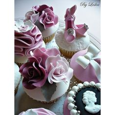 Cu[pcakes - ruffled rose,shoes ❤ liked on Polyvore featuring shoes, rose shoes, rosette shoes and ruffle shoes