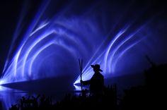 Cinescenie du Puy du Fou, le plus grand spectacle de nuit au monde