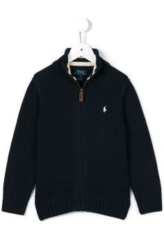 Ralph Lauren Kids Zipped Knit Jacket https://modasto.com/ralph-lauren-kids/erkek-cocuk/br62782ct138