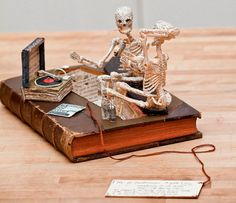 1: Skulduggery | Stories That Jump Off The Page: See Stunning Art Made From Books | Co.Create: Creativity  Culture  Commerce
