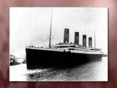 Magnificent. Tragic. The Titanic.