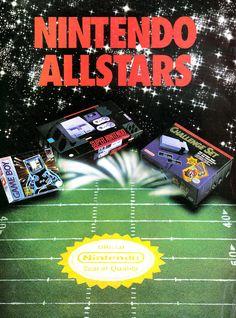 Nintendo Ad - Nintendo Allstars (SNES - NES - Game Boy)