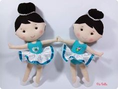 Tina's handicraft : 13 patterns for felt ballerinas Moldes Para Baby Shower, Unicorn Doll, Ribbon Design, Felt Fabric, Felt Dolls, Baby Disney, Crochet For Kids, Decor Crafts, Handicraft