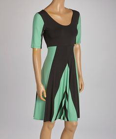Only Hearts Menthol Cool Water Scoop Neck Dress by Only Hearts #zulily #zulilyfinds