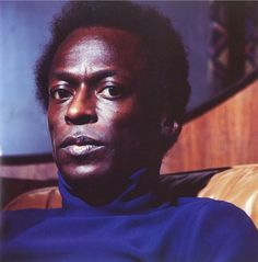 "© Lee Friedlander, Portrait of Miles Davis ""When you're creating your own shit, man, even the sky ain't the limit. Lee Friedlander, Miles Davis, Jazz Artists, Jazz Musicians, Walker Evans, Louis Armstrong, Smooth Jazz, Afro Punk, Richard Avedon"