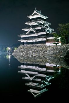 Matsumoto castle, Nagano, Japan #travel #japan http://exploretraveler.com http://exploretraveler.net