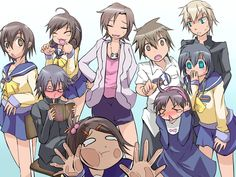 corpse party kids :3 ~ omg mayu