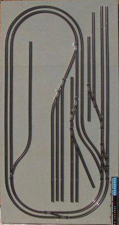 The Goods Yard Model Railways – Recent Projects … – Model Trains N Scale Train Layout, Ho Train Layouts, Lionel Trains Layout, Escala Ho, N Scale Model Trains, Model Railway Track Plans, Train Table, Lego Trains, Shop Storage