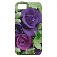 Purple Rose Bouquet iPhone 5 Covers $47.95