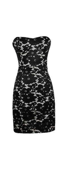 All Abloom Floral Lace Dress in Black  www.lilyboutique.com
