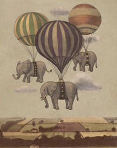 Vintage Elephant and
