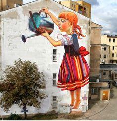 Wall art work , Poland