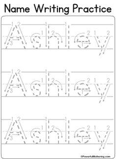 custom name tracing worksheets centers preschool writing preschool learning name writing. Black Bedroom Furniture Sets. Home Design Ideas