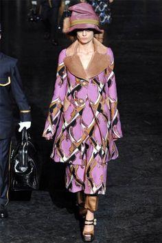 Louis Vuitton FW 2012 Anna Karenina inspired RTW