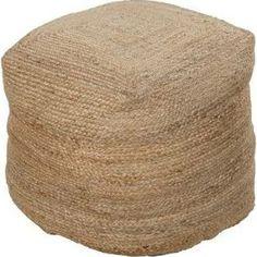 Surya Rugs POUF-101 Desert Sand Pouf $290  Most comfortable?