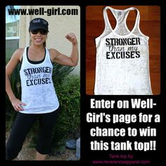 What an Inspirational Workout Shirt! Love It!!!! :) I want to make!