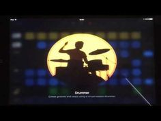 Garageband for iPad, New Features 2016, The Drummer - YouTube