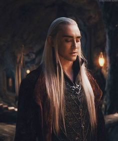 Thranduil, Elvenking of the Woodland Realm.