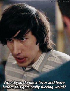 Adam Driver (Adam Sackler, Girls)