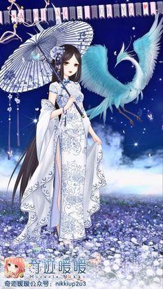 #miraclenikki Manga Anime, Art Anime, Anime Art Girl, Manga Art, Kleidung Design, Anime Dress, Kawaii, Fantasy Girl, Anime Outfits