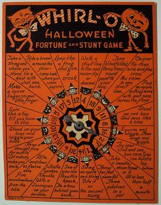 Vintage Halloween Game by riptheskull, via Flickr