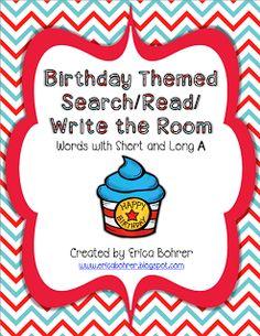 Classroom Freebies: Happy Birthday To Dr. You Know Who Freebie