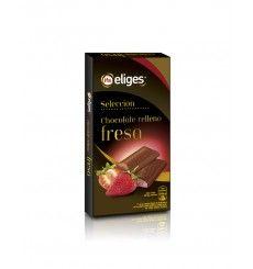 Chocolate relleno Fresa 100 grs.