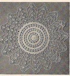 Lily of the Valley Crochet Doily Pattern - Yahoo Image Search Results