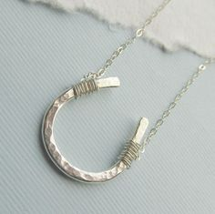 Horseshoe necklace for this, very likely, Columbus bound girl.