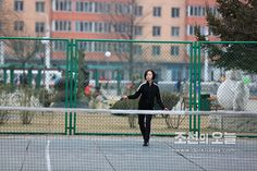 즐거운 시간을 보내는 학생들 -상흥아동공원에서- -《조선의 오늘》