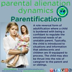 parentification adultification