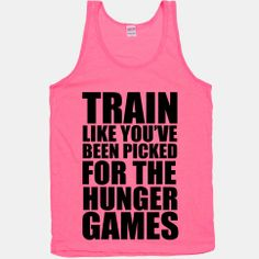Train for the Hunger Games #fitspo #fitsporation #fitness #workout #athletic #exercise