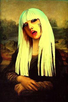 GaGa Mona -- Mona Lisa Parodies #Joconde