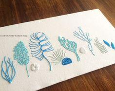 Wild Pods modern hand embroidery pattern by KFNeedleworkDesign