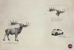 Read more: https://www.luerzersarchive.com/en/magazine/print-detail/fiat-50909.html Fiat (Irish Elk [Megaloceros giganteus.] – The oversized design of its antlers made walking into forests almost impossible. Extinct 7,700 years ago.) Tags: Leo Burnett Tailor Made, São Paulo,Marcelo Reis,Guilherme Jahara,Fiat,Mario Cintra,Marcelo Rizerio,Murilo Melo,Sattu Rodrigues,Julio D'Alfonso