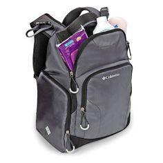Columbia Summit Rush Backpack Diaper Bag - Grey   BabiesRUs