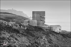WWII German MP4 Range Finding Tower - Guernsey, Channel Islands.