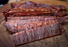 Homemade beef jerky, check out the slide show for step-by-step pictures on making jerky. / Steve Wilson/DFW.com