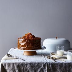 Modern Cake Stand with Cloche on Food52
