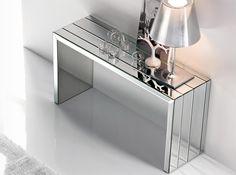 Portofino Glass Console Table by Cattelan Italia - $2,225.00