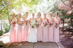 Paul Vincent Photography. Loose Bouquets by Sadie's Couture Floral & Event Styling